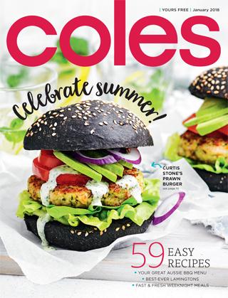 Coles magazine january 2018 negle Gallery