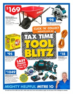Tax Time Tool Blitz  - June Small