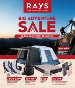 Big Adventure Sale
