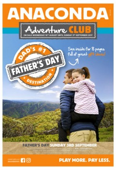 Adventure Club Father's Day