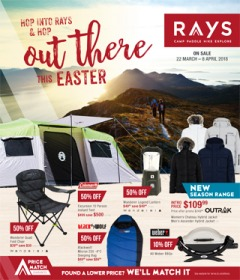 Hop Into Rays & Hop Out There This Easter