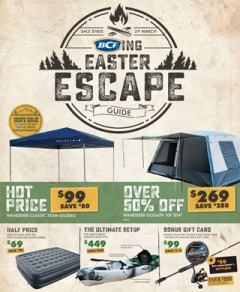 BCFing Easter Escape Guide
