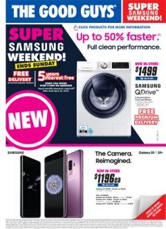 Super Samsung Weekend!