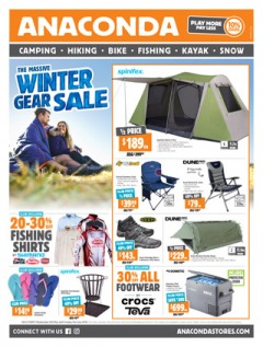 The Massive Winter Gear Sale (Valid in-store only: Cairns, Darwin, Rockhampton and Townsville only)