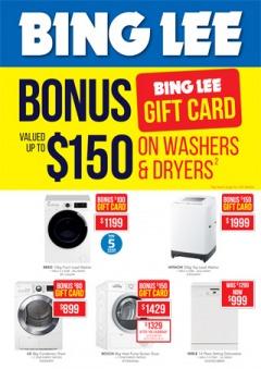 Laundry / Dishwasher