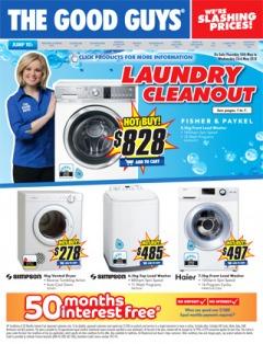 Laundry Cleanout