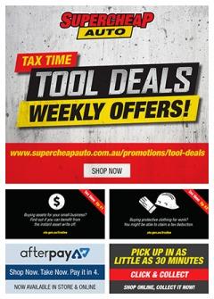 Tax Time Tool Deals