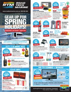 Gear Up For Spring Holidays!