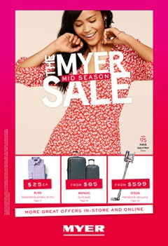 The Myer Mid Season Sale