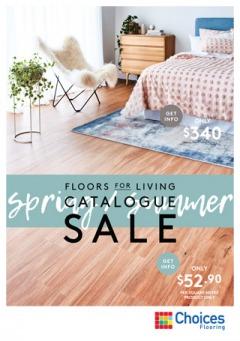 Spring / Summer Floors For Living