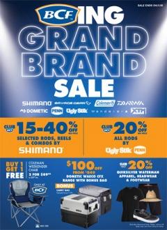 BCFing Grand Brand Sale