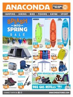 Splash into Spring Sale