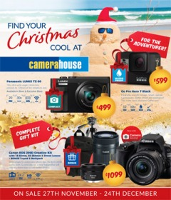 Find Your Christmas Cool At Camera House