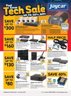 Post Xmas Tech Sale