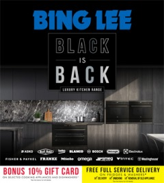 Black Is Back Luxury Kitchen Range