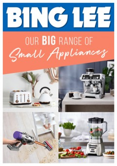 Our Big Range of Small Appliances