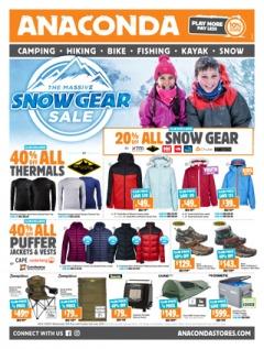 The Massive Snow Gear Sale