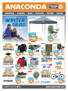 The Massive Winter Gear Sale