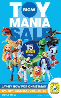 Toy Mania Sale