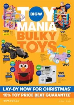 Toy Mania Bulky Toys