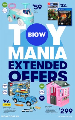 Toy Mania Extended Offers