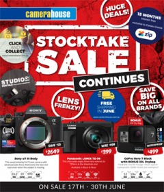 Stocktake Sale Continues