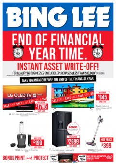 End of Financial Year Time