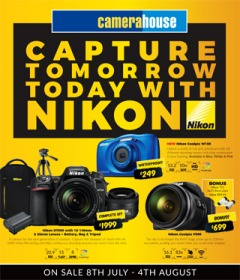 Capture Tomorrow Today With Nikon