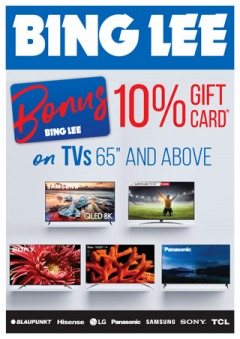 Bonus Gift Card on TV