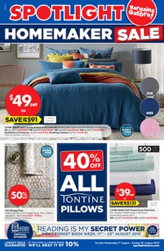 Homemaker Sale