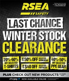 Winter Stock Clearance