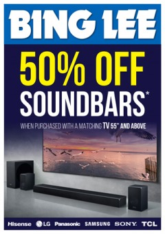 50% Off Soundbars