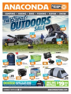 The Great Outdoors Sales