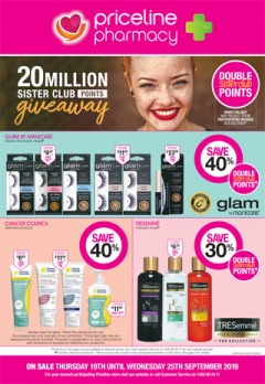 20 Million Sister Club Points Giveaway