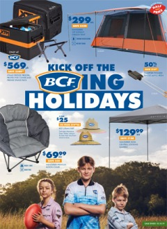 Kick Off The BCFing Holidays