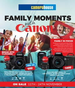 Family Moments With Canon