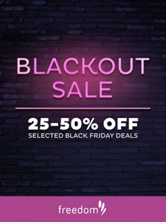 Blackout Sale