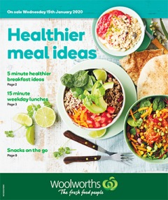 Healthier Meal Ideas NSW