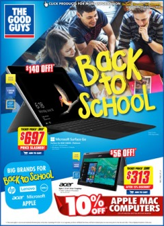 More Back to School Specials