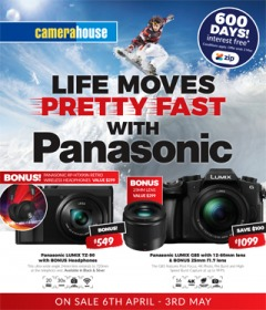 Life Moves Pretty Fast With Panasonic