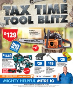 Tax Time Tool Blitz