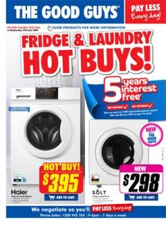 Fridge & Laundry Hot Buys!