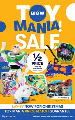 Toy Mania Sale!