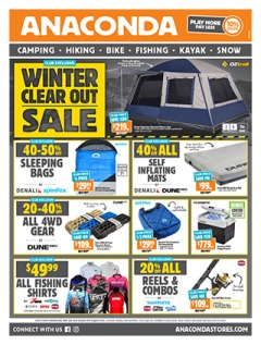 Winter Clear Out Sale (Far Northern Australia)