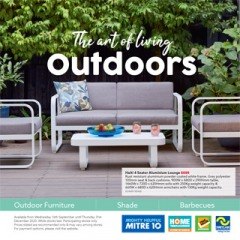 The Art Of Living Outdoors
