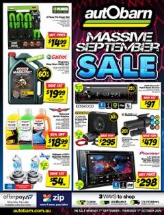 Massive September Sale