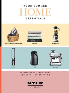 Your Summer Home Essentials