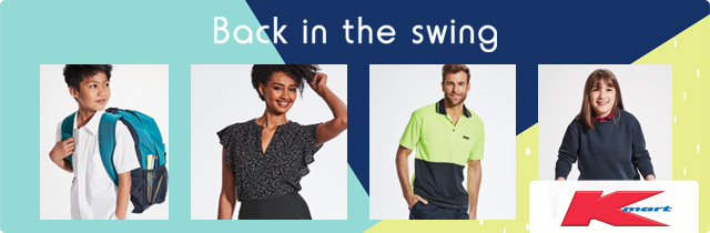 Back in the Swing Kmart Catalogue