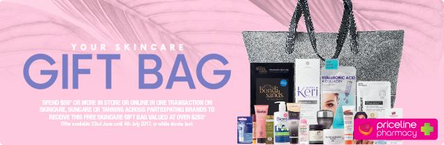 Your Skincare Gift Bag - Priceline