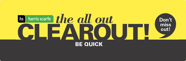 The All Out Clearout-Harris Scarfe